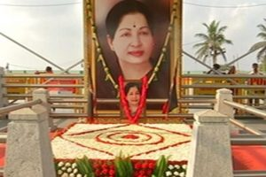 All set for AIADMK merger at Jayalalithaa memorial