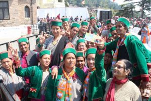 Tribal women up again to move the mountains