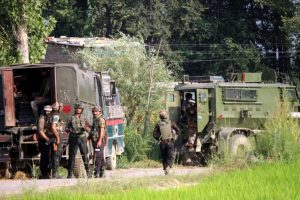 Gunfight breaks out between security forces, militants in J-K