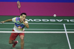 Jet-lagged Lin Dan feared dozing off on court