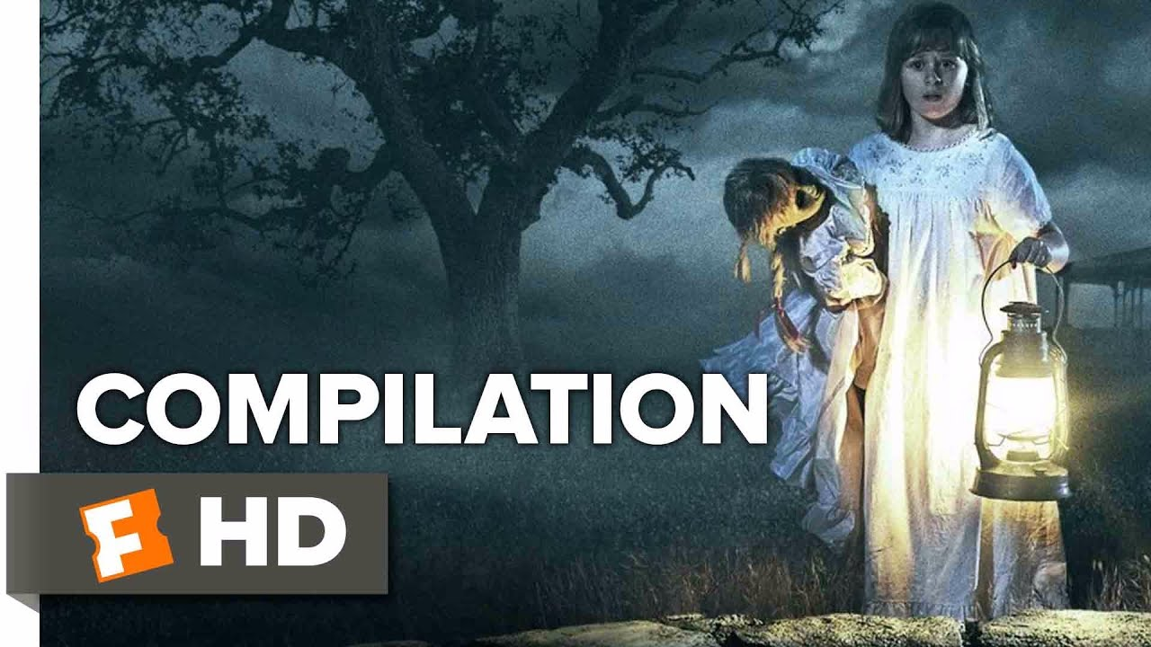 Annabelle: Creation ALL Trailers + Clips (2017)