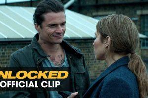 """Unlocked (2017 Movie) Official Clip – """"Bad Idea"""" – Orlando Bloom, Noomi Rapace"""