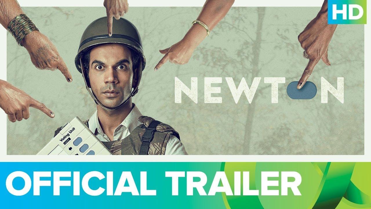 Rajkummar Rao upcoming movie Newton official Trailer released