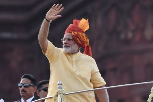 Modi invokes Hindu gods in Independence Day speech