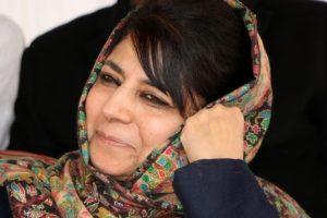 Shun guns and stones, Mehbooba Mufti tells Kashmiris