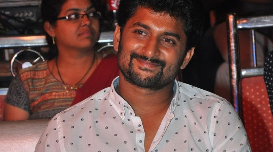 Telugu star Nani meets with an accident, escapes unhurt