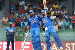 Kohli, Rohit fire India to another emphatic win