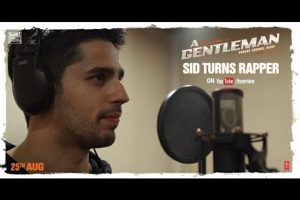 Video: Sidharth Malhotra do rap in this BTS video of 'Bandook Meri Laila'