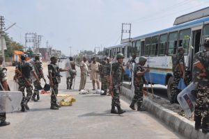 Mosque door gutted in Kasganj, police say situation calm