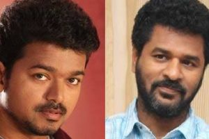 Vijay, Prabhudheva to team up for second time