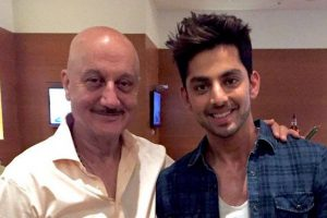 Himansh Kohli: Had the 'best experience' with Anupam Kher