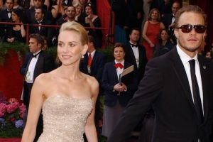 Heath Ledger's death was a shock for Naomi Watts