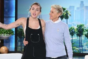 Miley Cyrus taught DeGeneres how to feel younger