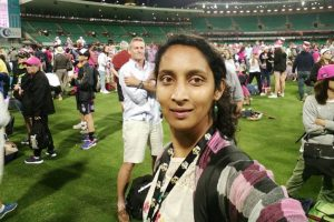 Cricketer Snehal Pradhan to support film on women's cricket