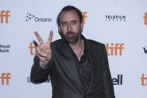 Don't like the word acting, says Nicolas Cage