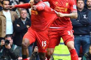 Liverpool down United
