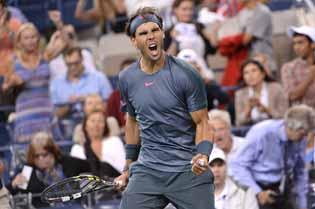 Nadal masterclass floors Robredo