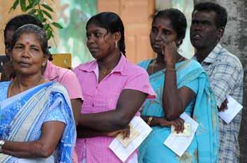 Sri Lanka holds landmark polls