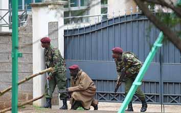 Nairobi siege continues