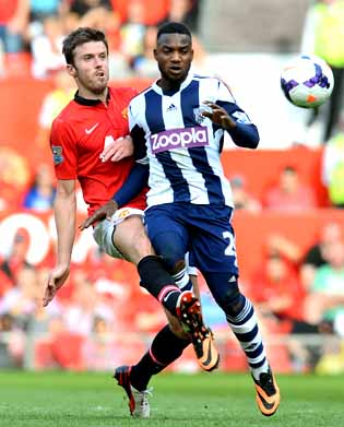 United shocked at home by West Brom
