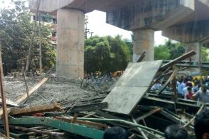 Five injured as under-construction bridge collapses in Odisha