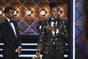 Lena Waithe, Aziz Ansari win Emmy for coming out story