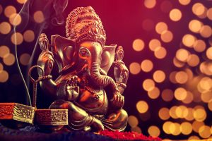 Who is common to writing rooms of well-known authors? Lord Ganesh