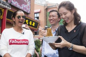 Wuhan Open: Sania Mirza tours city; tries Chinese cuisine
