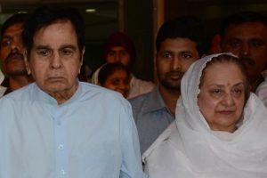 Dilip Kumar feeling triumphant: Saira Banu