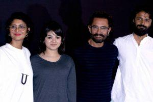 Aamir impressed by Zaira Wasim's perfectionism