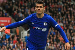 Watch: Chelsea's hattrick hero Alvaro Morata shows off skills with gum on golf course