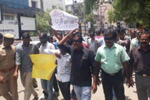 Protests in Tamil Nadu over suicide of Dalit student S Anitha