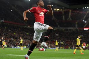 Jose Mourinho impressed with Anthony Martial's attitude