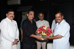 Arvind Kejriwal urges Kamal to enter politics