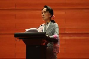 Suu Kyi calls for speedy rehabilitation measures in Rakhine