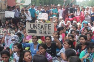 BHU students protest in Delhi, demand VC's ouster