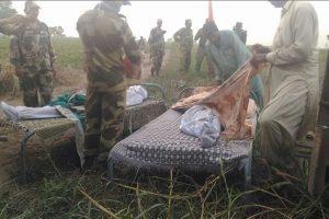 Watch: BSF handing over bodies of infiltrators to Pakistan