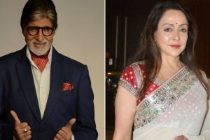 Big B, Hema Malini promote oneness for Kashmir