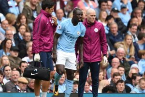 Manchester City's Benjamin Mendy returns to training after 6-month absence