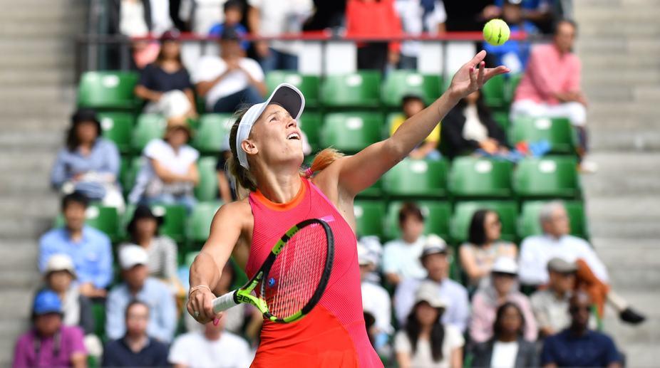 Caroline Wozniacki, WTA Finals, Simona Halep, Danish tennis player