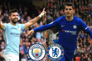 Chelsea vs Manchester City: Sergio Aguero, Alvaro Morata lead combined XI