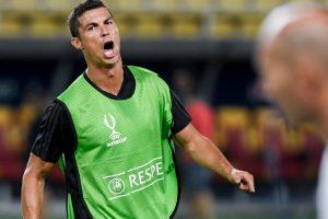 Watch: Cristiano Ronaldos scores golazo in Real Madrid training