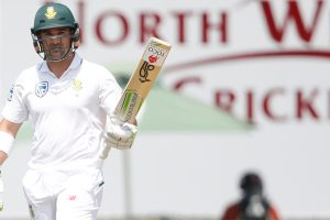 Dean Elgar bats through first day as South Africa dominate