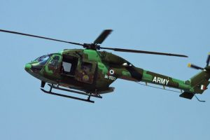Army helicopter crashes in eastern Ladakh, all crew members safe