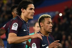 Cavani ties club record, Neymar scores quadruple in PSG's dominant win