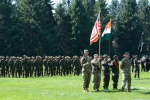India-US military exercise ends in US