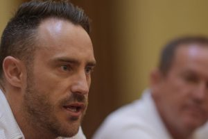 World XI visit is much more than a cricket tour: Du Plessis