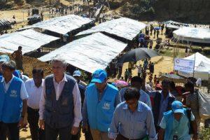 UN refugee chief Filippo Grandi visits Bangladesh