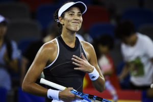 Wuhan Open: Muguruza coasts but Halep, Wozniacki crash out