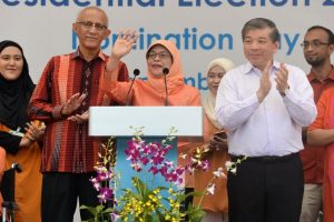 Halimah Yacob elected Singapore's first woman President
